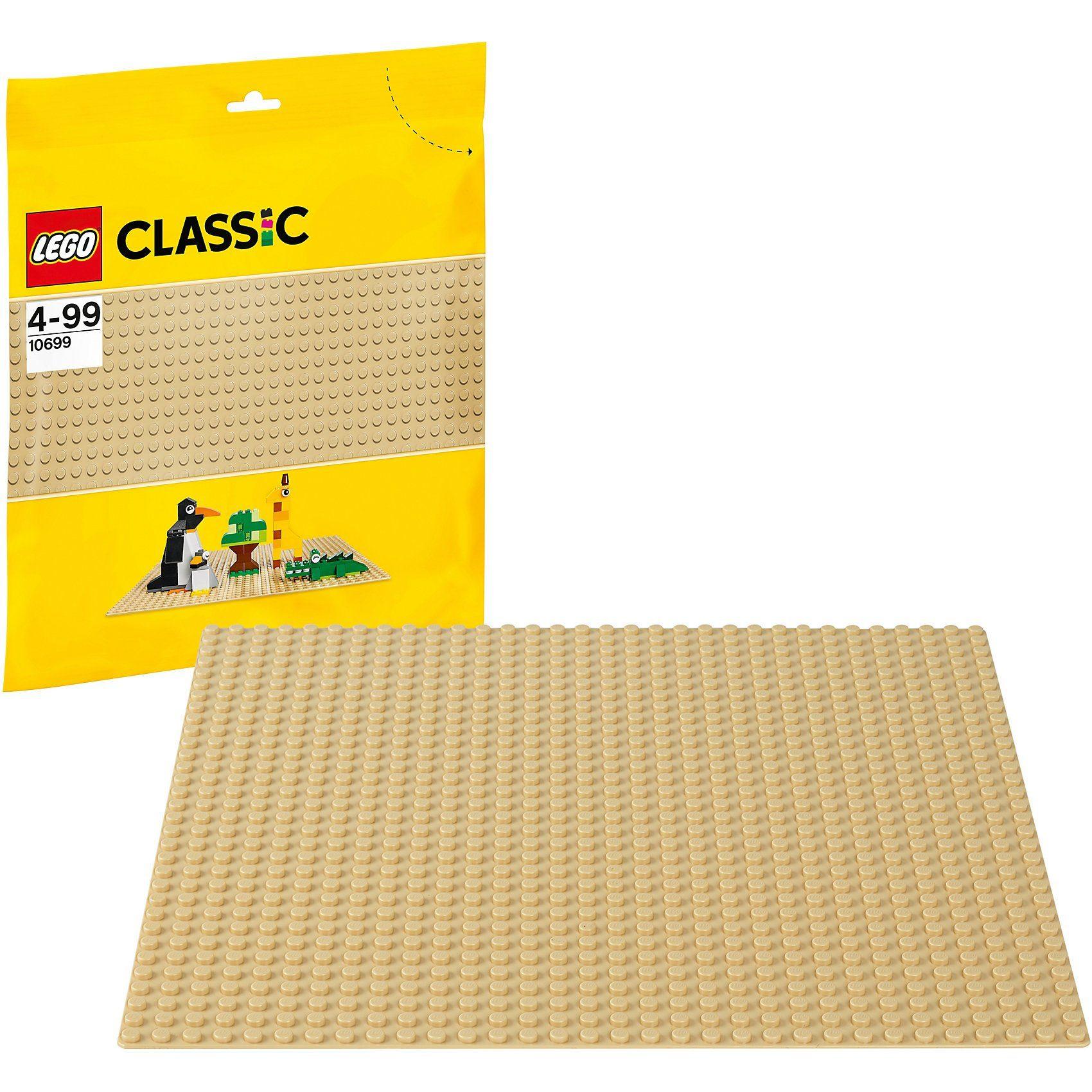 LEGO 10699 Classics: Sandfarbene Grundplatte