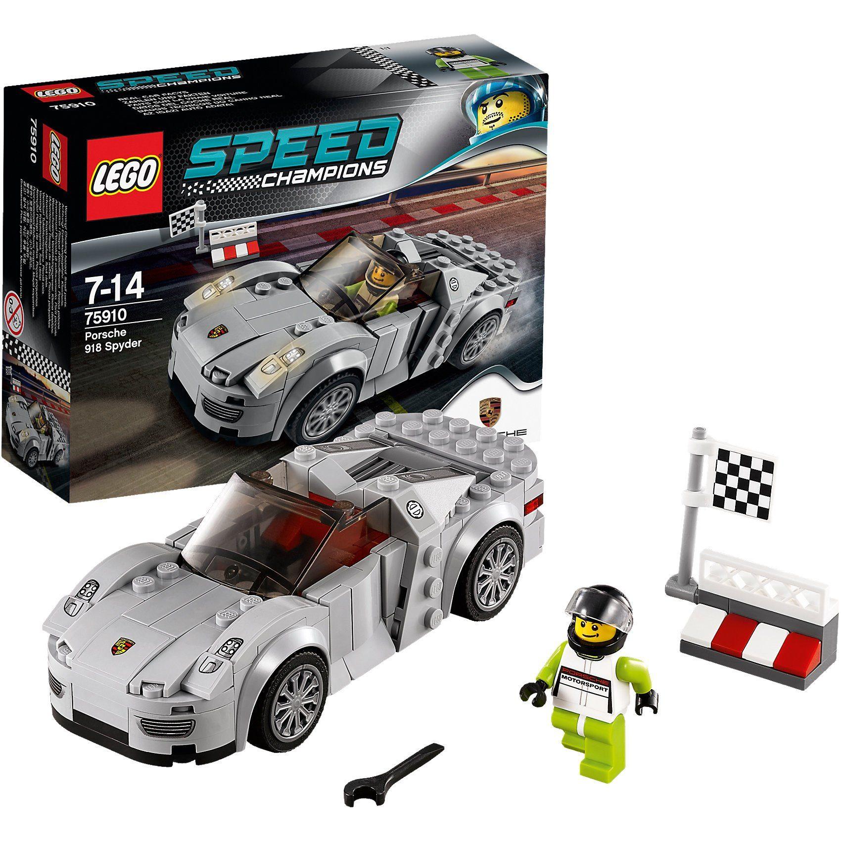 LEGO 75910 Speed: Porsche 918 Spyder