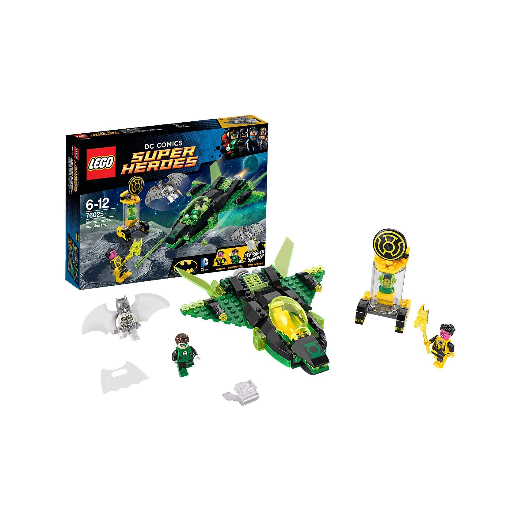 LEGO 76025 Super Heroes Batman: Green Lantern vs. Sinestro