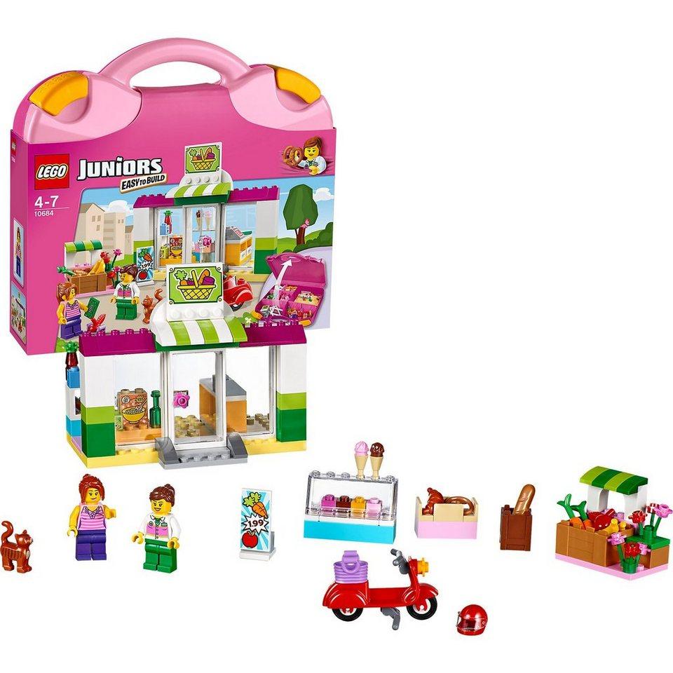 LEGO 10684 Juniors: Supermarkt-Koffer