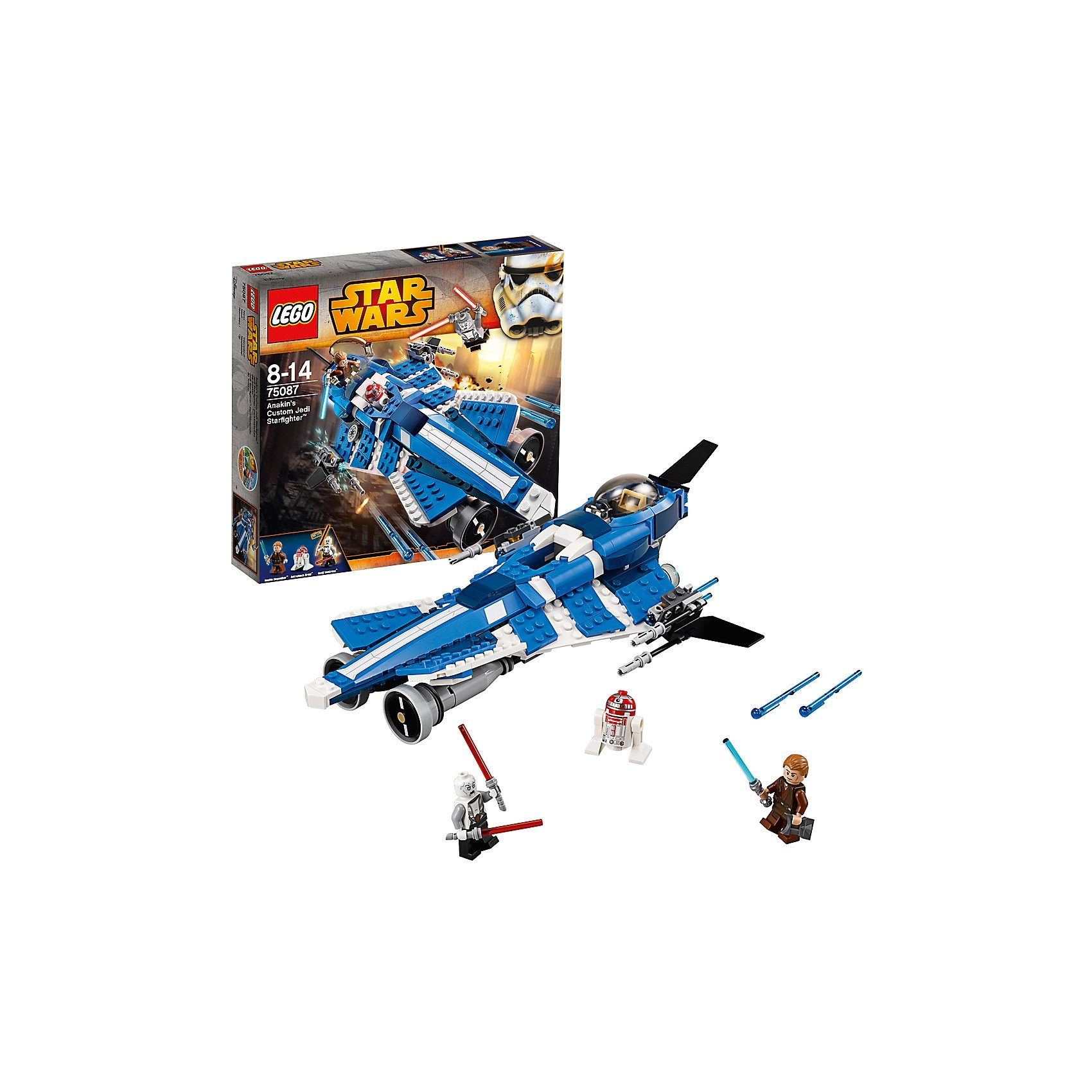 LEGO 75087 Star Wars: Anakin's Custom Jedi Starfighter™