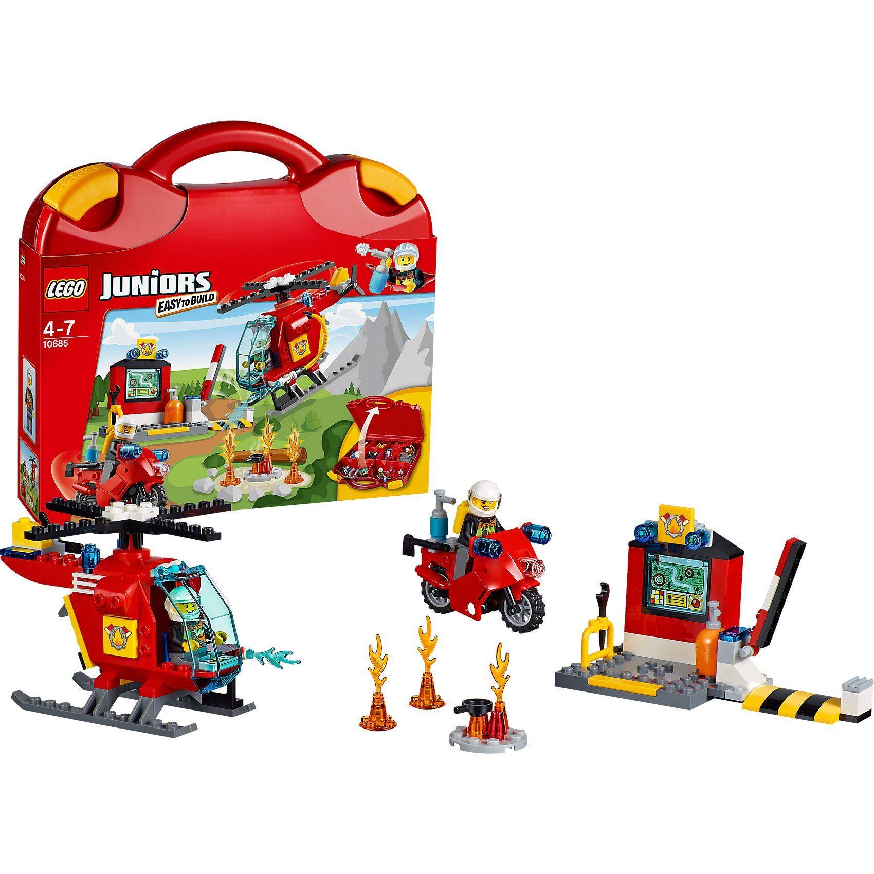 LEGO 10685 Juniors: Feuerwehr-Koffer