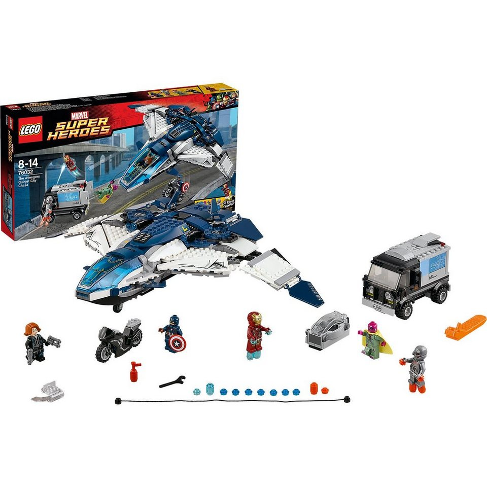 LEGO 76032 Super Heroes: Quinjet Verfolgungsjagd