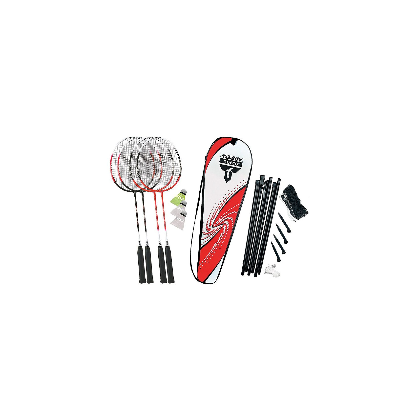 "Talbot-Torro Badminton Set ""4-Attacker Plus"""