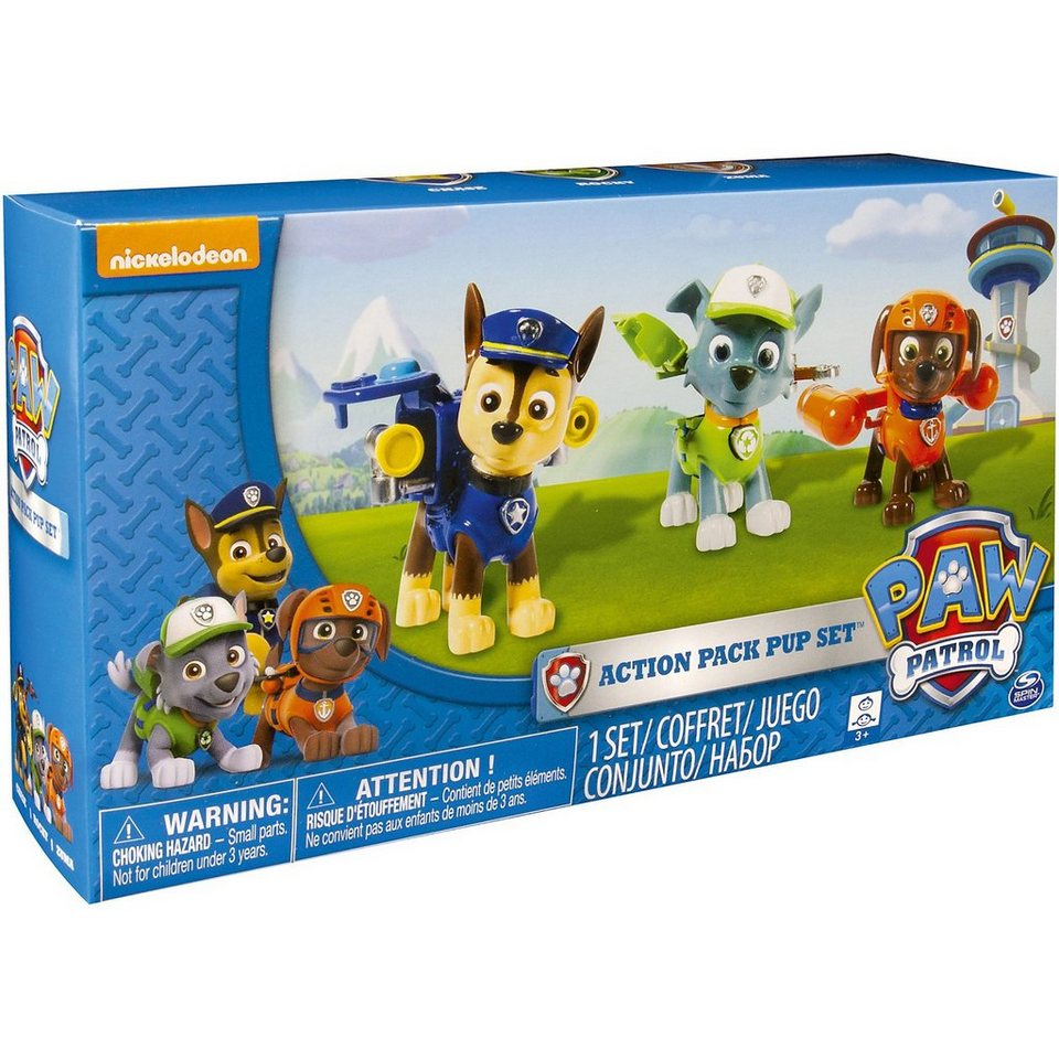Spin Master Paw Patrol - Action Pack 1 (3 Stück)