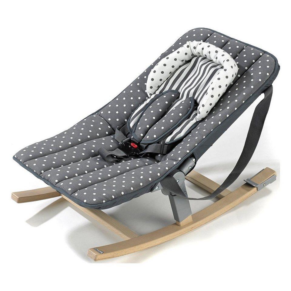 geuther wippe rocco mit 5 punkt gurt buche gepunktet online kaufen otto. Black Bedroom Furniture Sets. Home Design Ideas