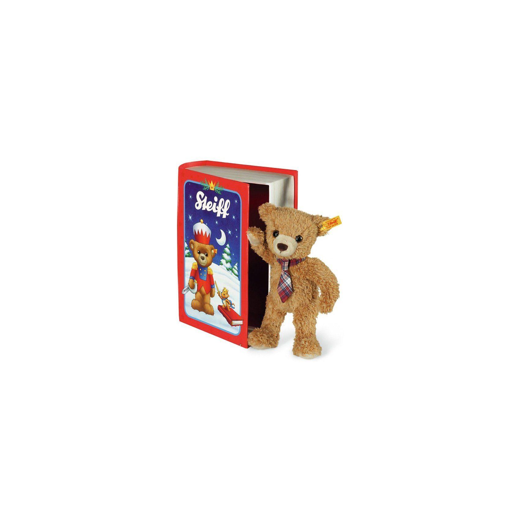 Steiff Carlo Teddybär in Märchenbuchbox, 23cm