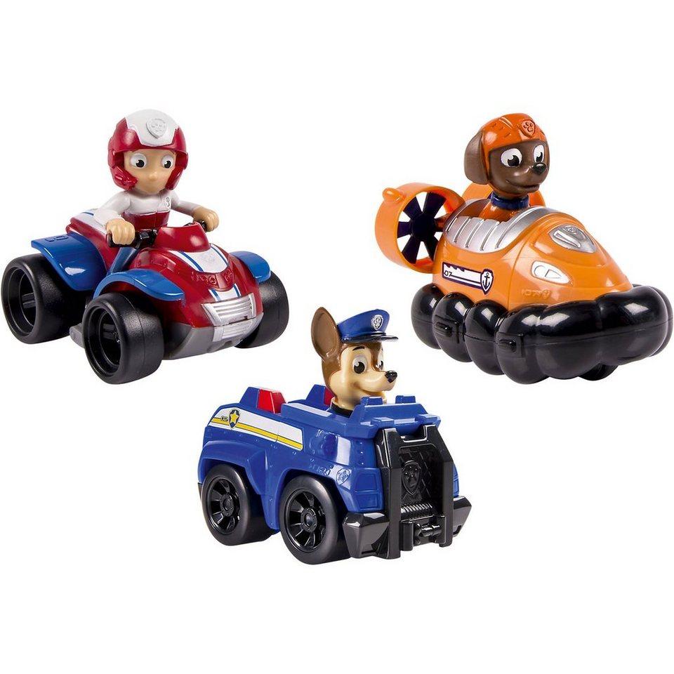 Spin Master Paw Patrol - Rettungsflitzer, 3 Fahrzeuge