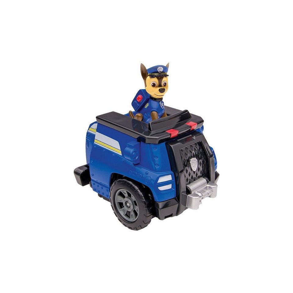 Spin Master Paw Patrol - Deluxe Transform Fahrzeug mit Chase