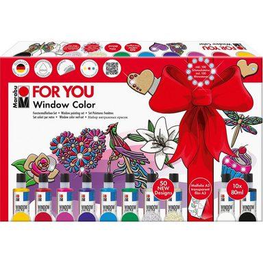 Marabu Window Color Geschenkset For You