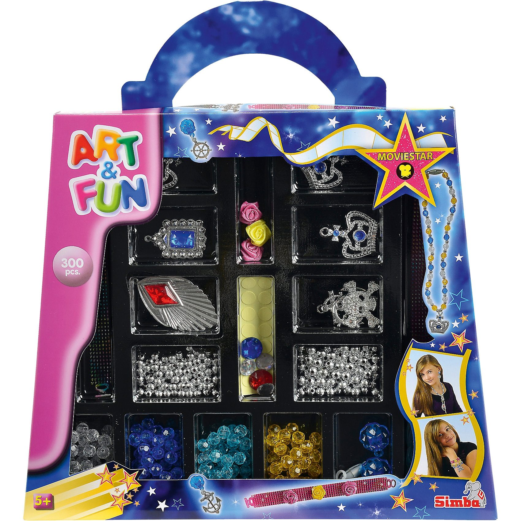 Simba Art & Fun Moviestar Perlenset