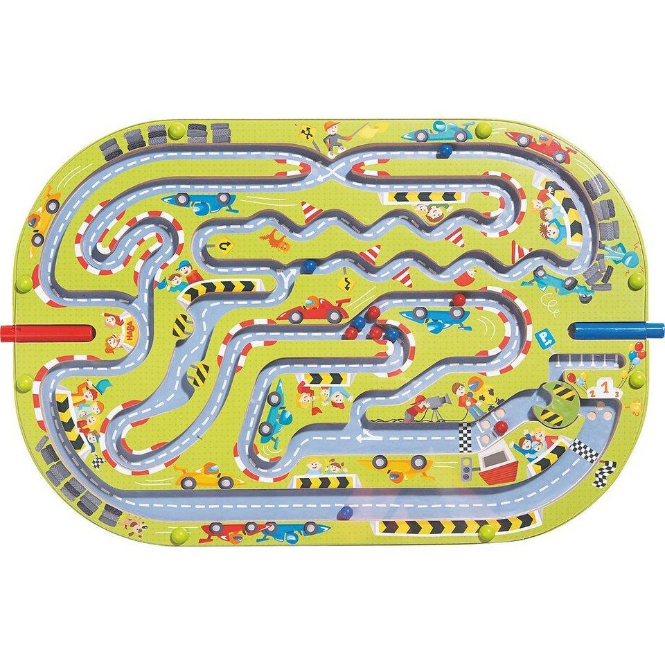 Haba Magnetspiel Großes -Rennen