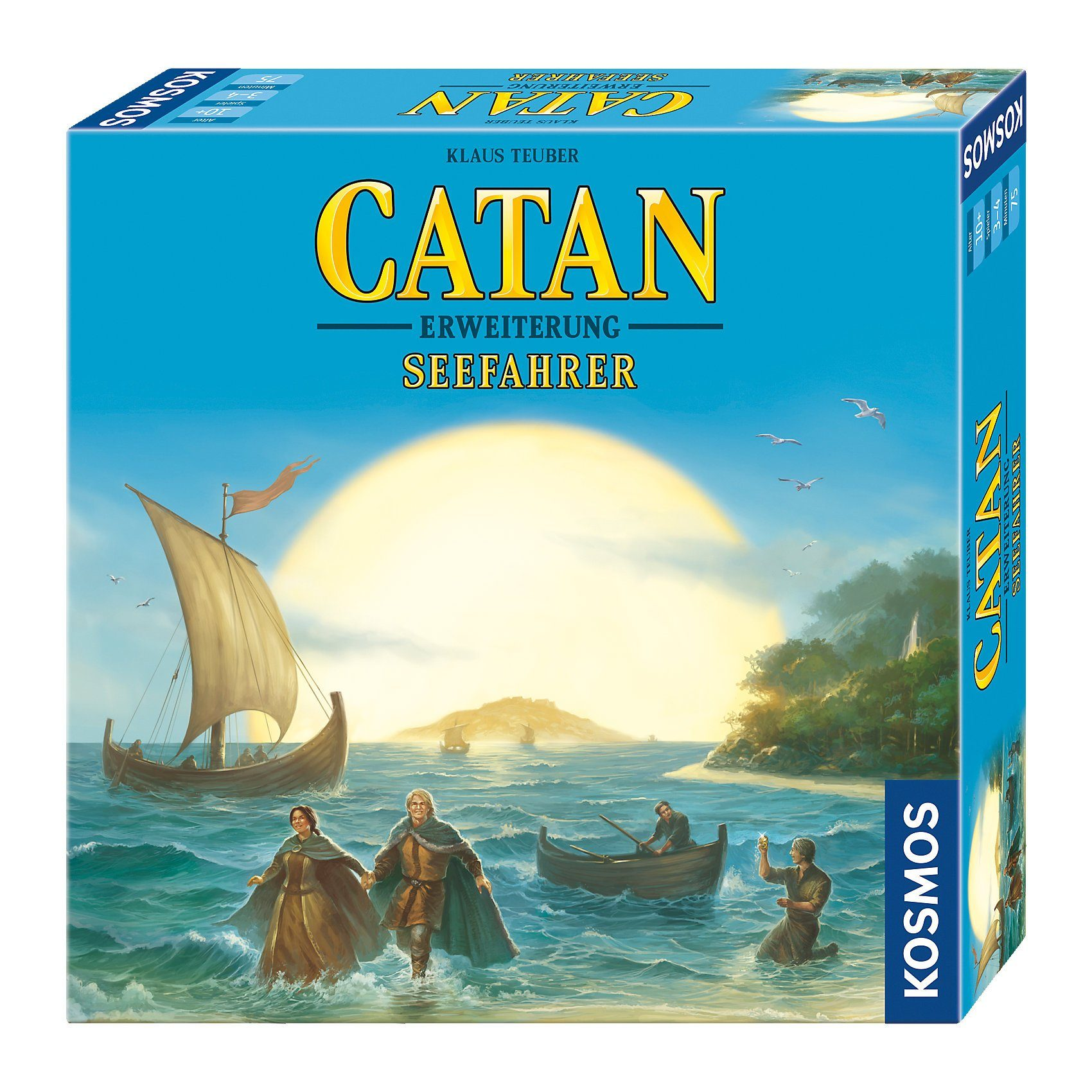 Kosmos Catan - Erweiterung Seefahrer 3-4 Spieler