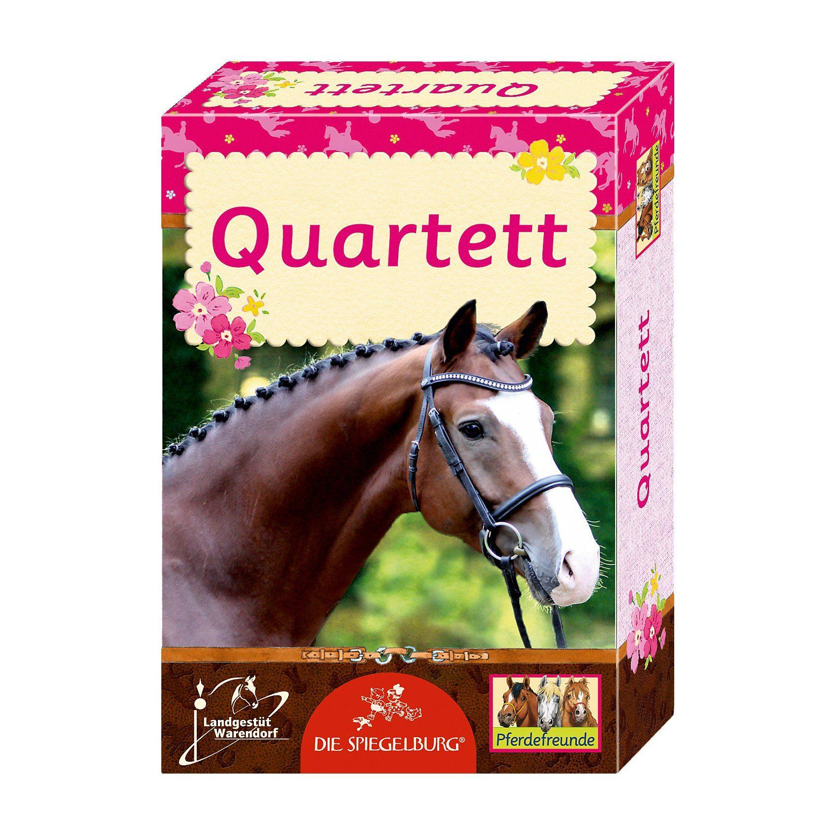 Spiegelburg Kartenspiel - Quartett Pferdefreunde
