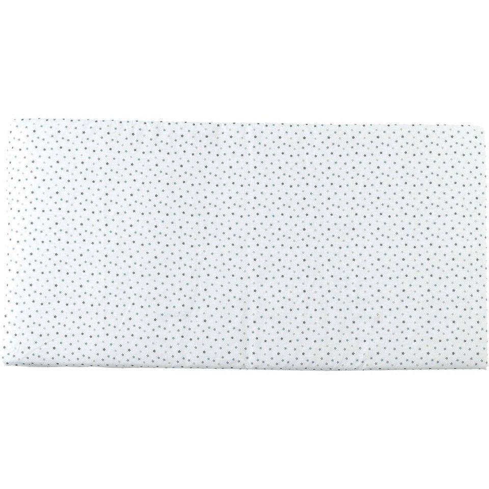 candide Reisebettmatratze Sterne rollbar, 60 x 120 cm in weiß