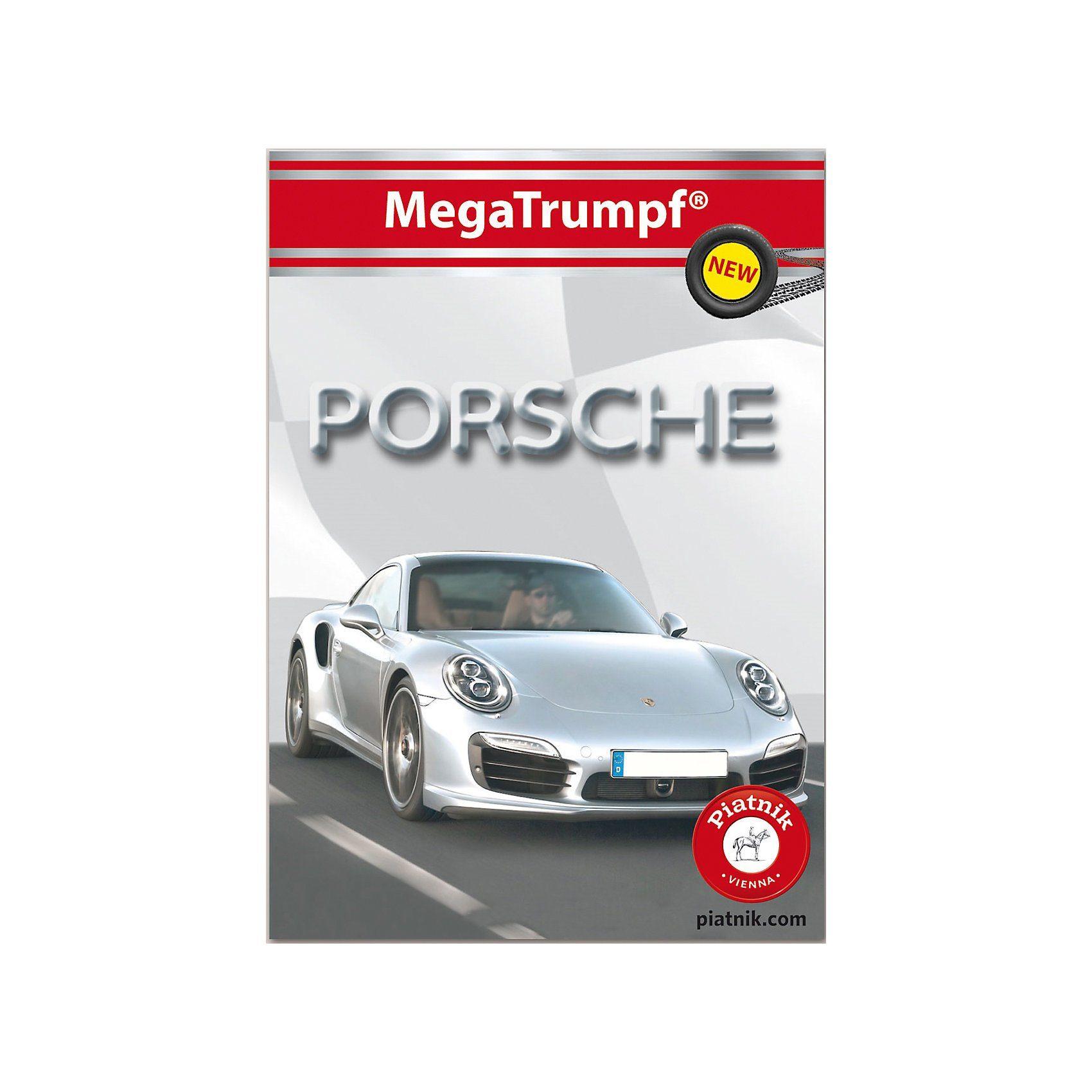 Piatnik Quartett Porsche