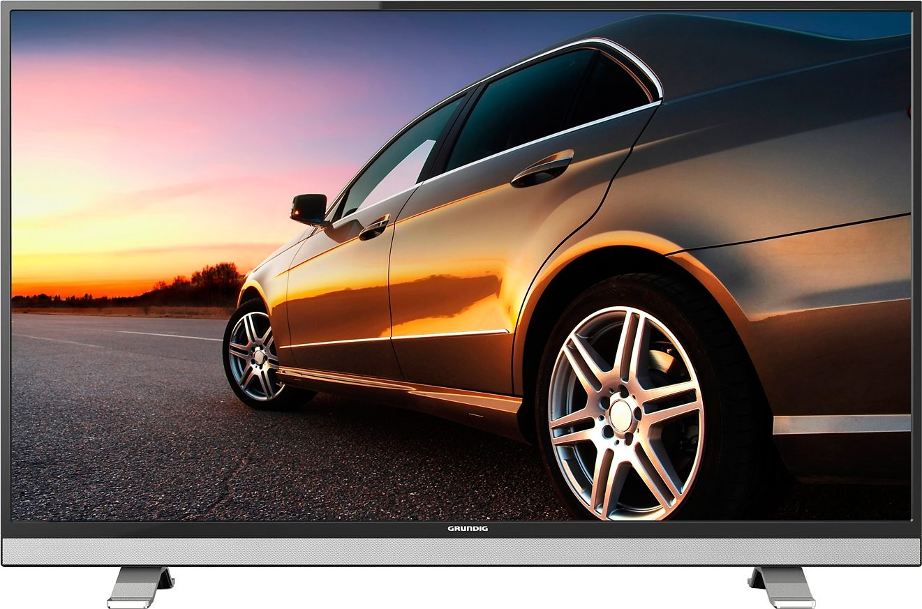 Grundig 49VLE8520BL, LED Fernseher, 123 cm (49 Zoll), 1080p (Full HD), Smart-TV