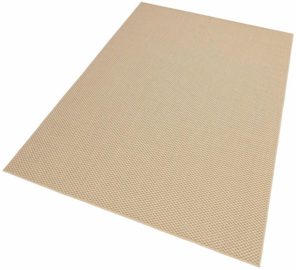 Teppich, my home, »Richard«, In- und Outdoor geeignet, Sisaloptik in beige