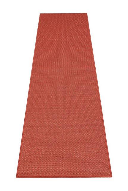 Läufer »Richard«, my home, rechteckig, Höhe 4 mm, In- und Outdoorgeeignet   Heimtextilien > Teppiche > Läufer   Rot   My Home