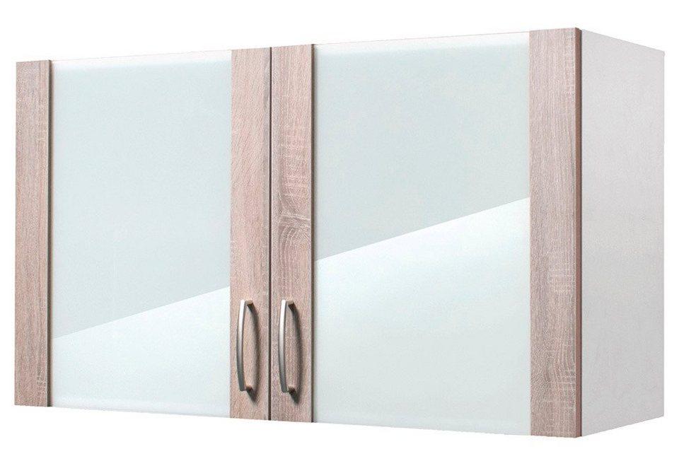 Wiho Küchen Küchenhängeschrank »Porto«, Breite 100 cm in eichefarben trüffel
