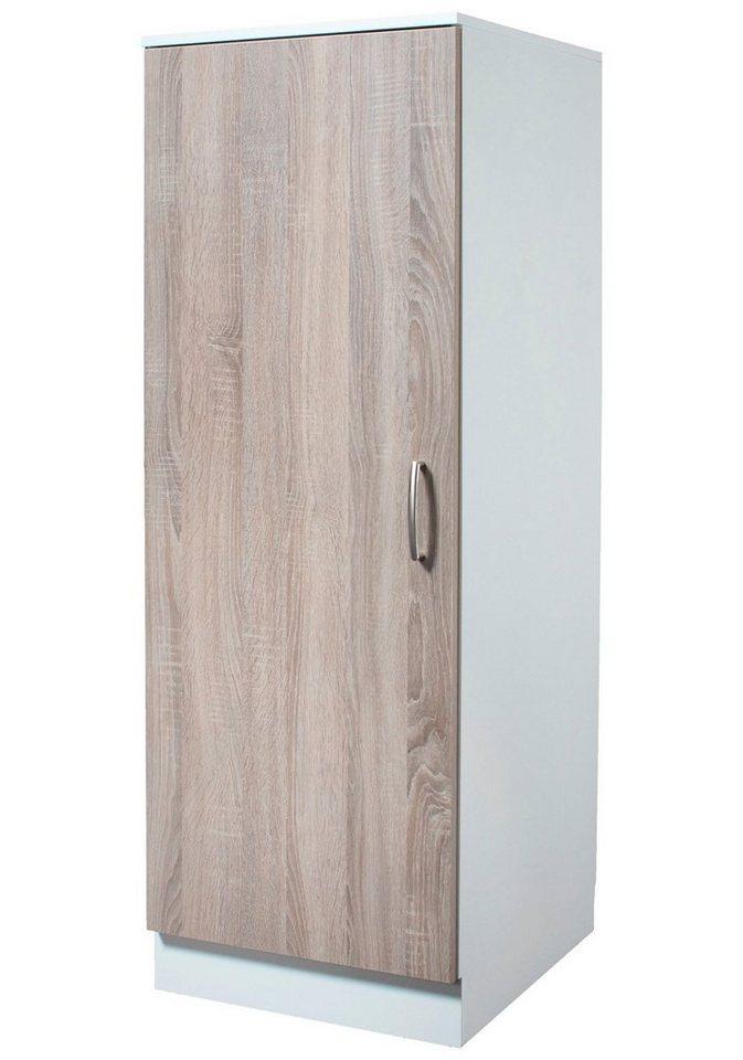 Vorratsschrank »Porto«, Breite 50 cm in eichefarben trüffel