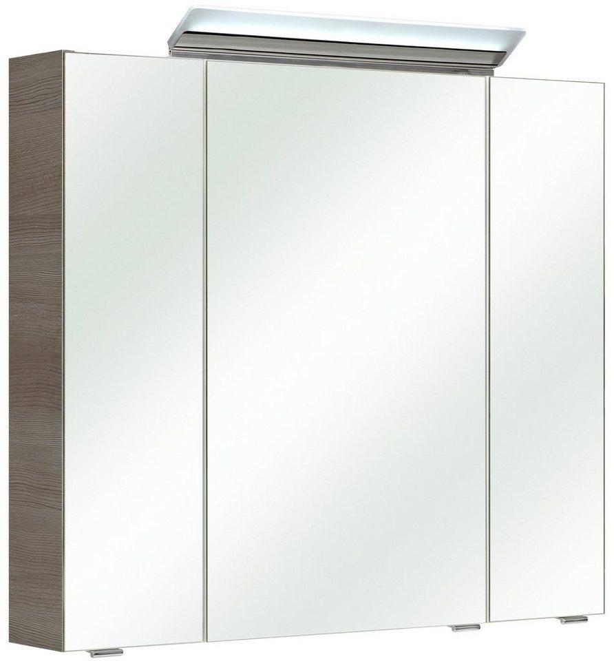 spiegelschrank filo breite 80 cm mit led beleuchtung online kaufen otto. Black Bedroom Furniture Sets. Home Design Ideas