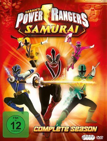 DVD »Power Rangers Samurai - Complete Season (4 Discs)«