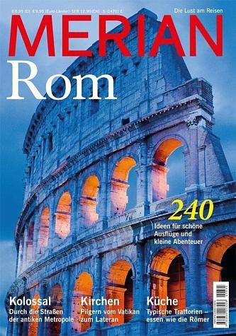 Broschiertes Buch »MERIAN Rom«