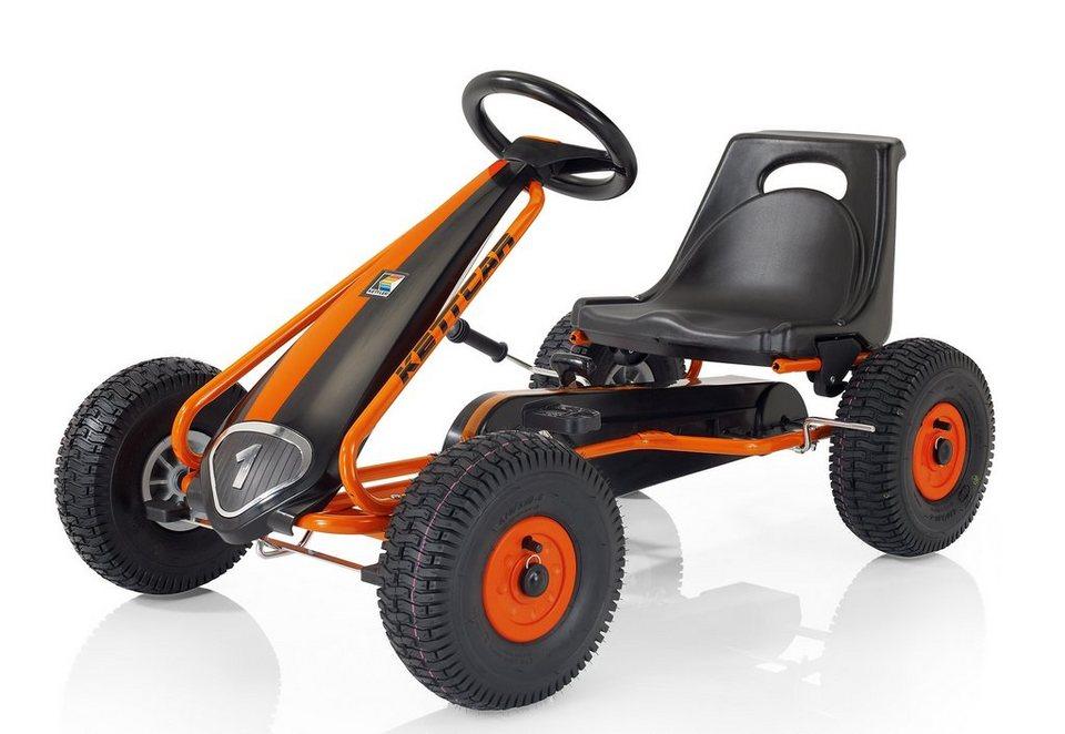 Kettler® Kettcar, Made in Germany, »Suzuka Air« in schwarz/orange
