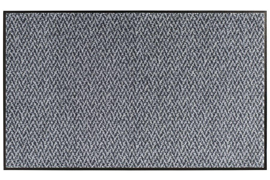 wash & dry Fußmatte in grau