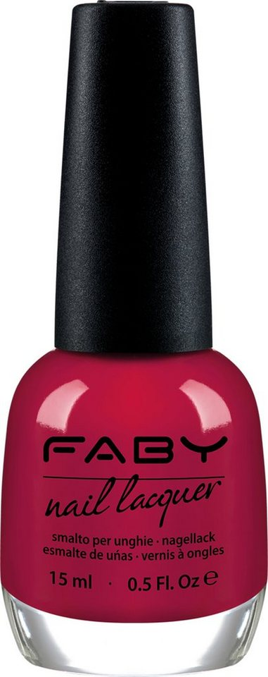 Faby, »Rot & Orange Töne«, Nagellack in Simply Perfect