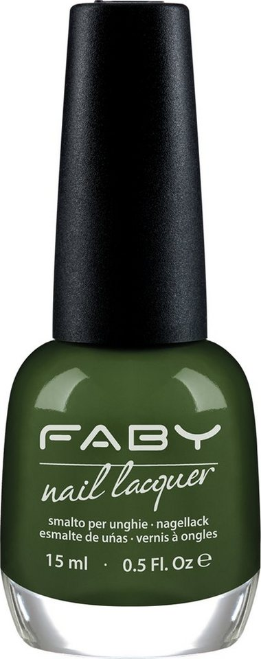 Faby, »Blau & Grün Töne«, Nagellack in Mint Bubbles
