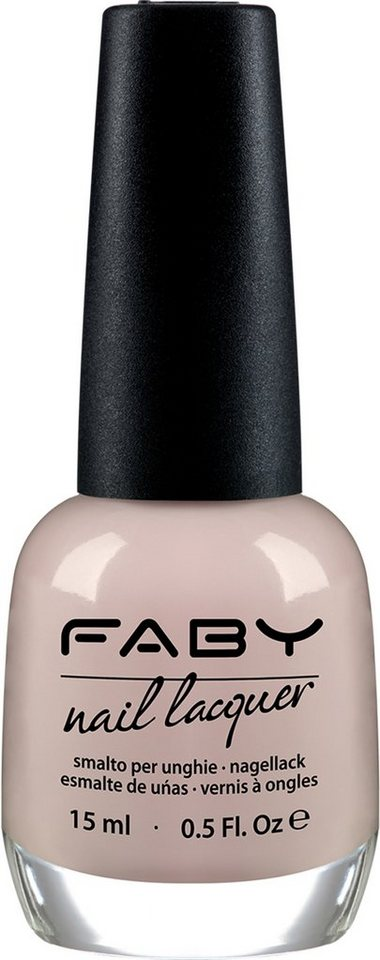 Faby, »French & Rosé Töne«, Nagellack in It's raining Milk