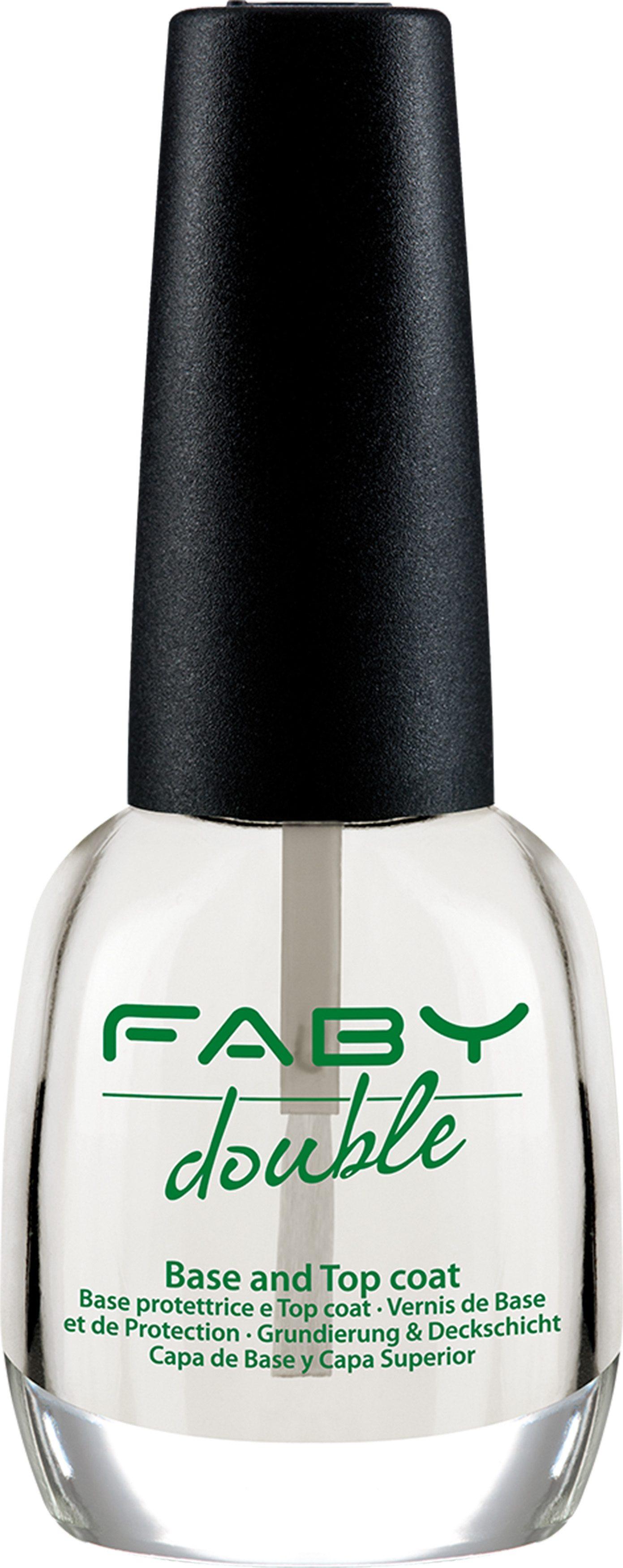 Faby, »Double Base & Top Coat«, Unter- und Überlack