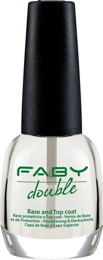 FABY Unterlack »Double Base & Top Coat«, Unter- und Überlack