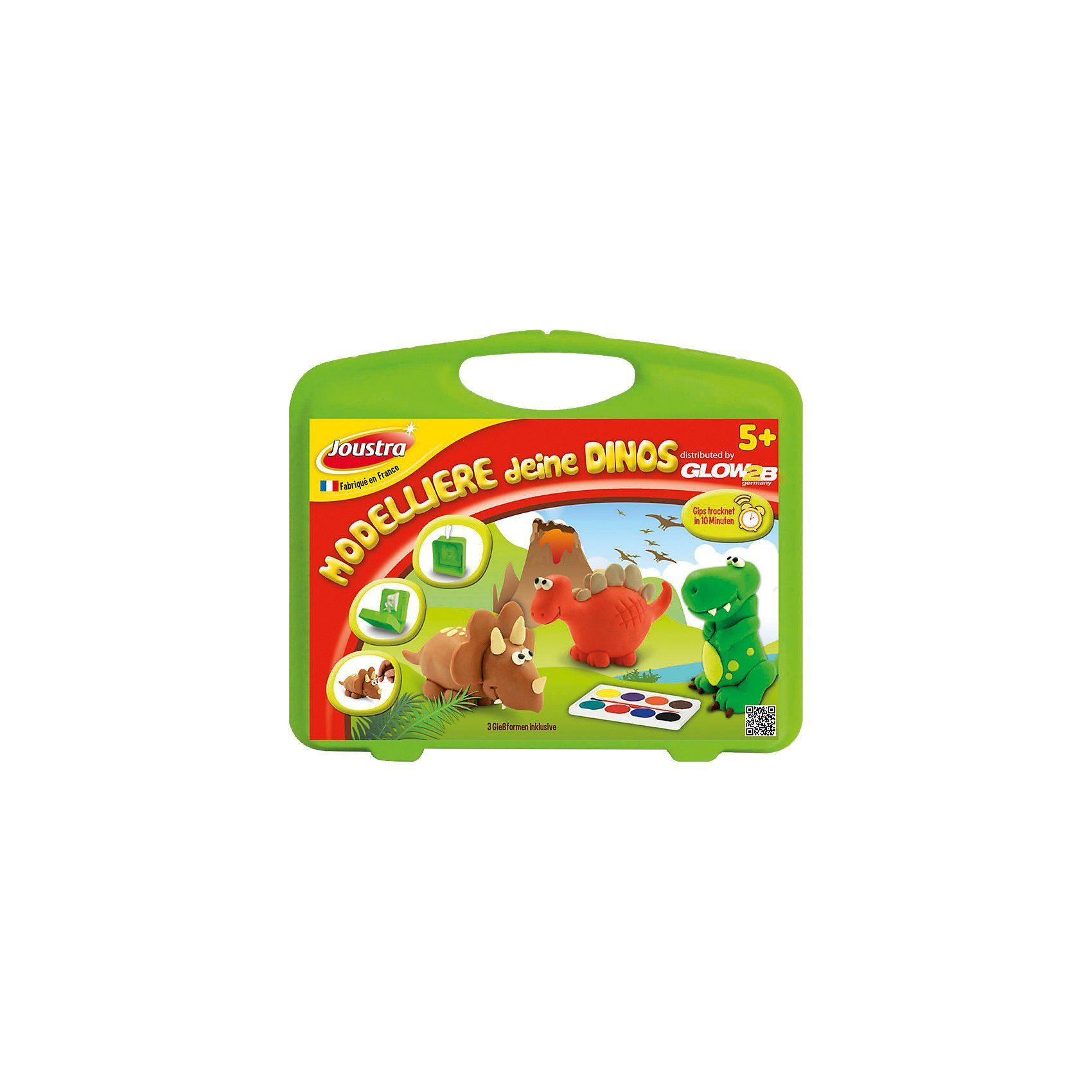Glow2B Kreativset Modelliere deine Dinos