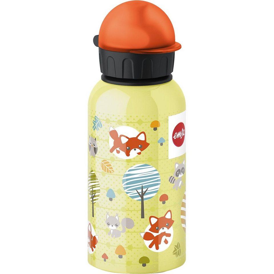 Emsa Trinkflasche Fuchs, 400 ml in gelb