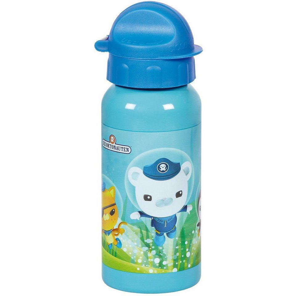 Alu Trinkflasche Oktonauten 395 ml in blau