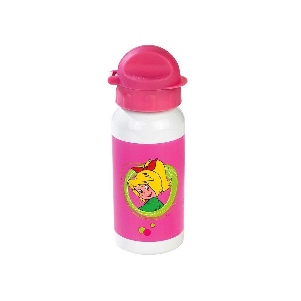 Alu Trinkflasche Bibi Blocksberg 395 ml in pink