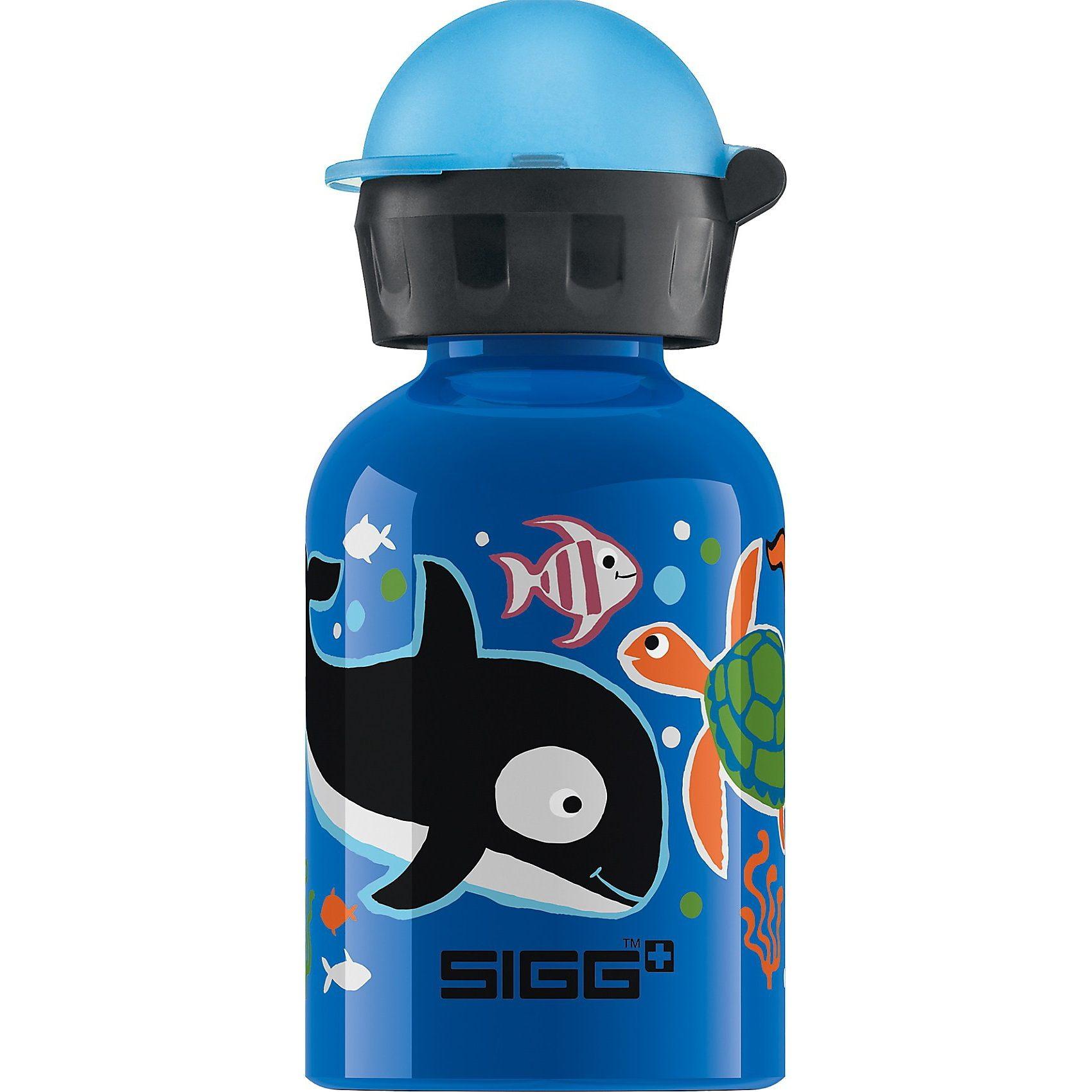 SIGG Alu-Trinkflasche Seaworld, 300 ml