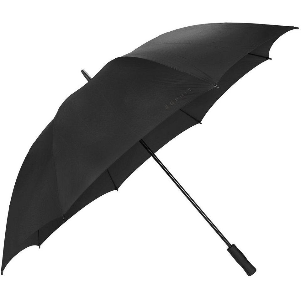 Esprit Golf Stockschirm 96 cm in black