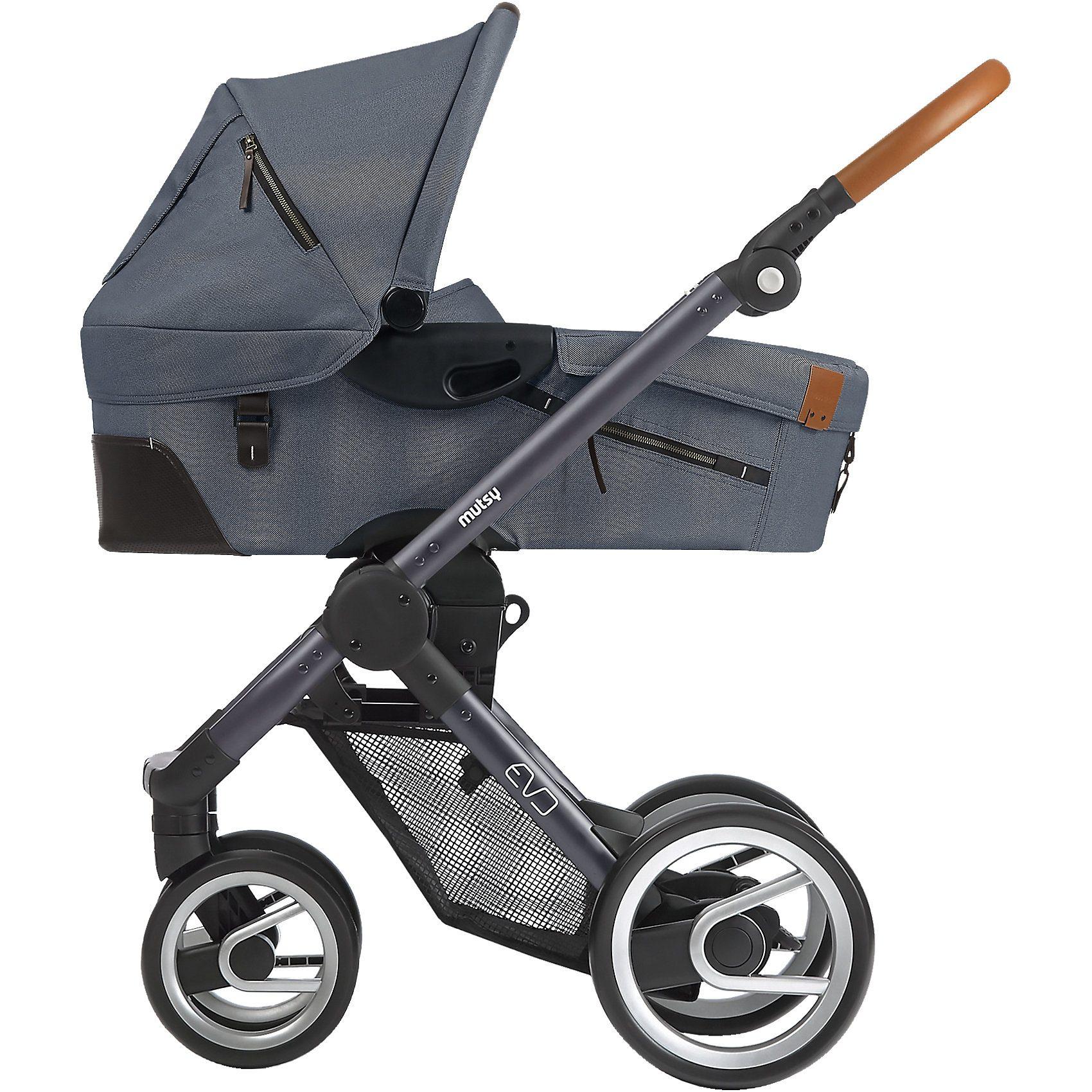 mutsy Kombi-Kinderwagen Evo, industrial grey, Gestell darkgrey, 20