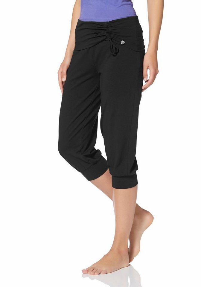 Ocean Sportswear Yogahose in schwarz