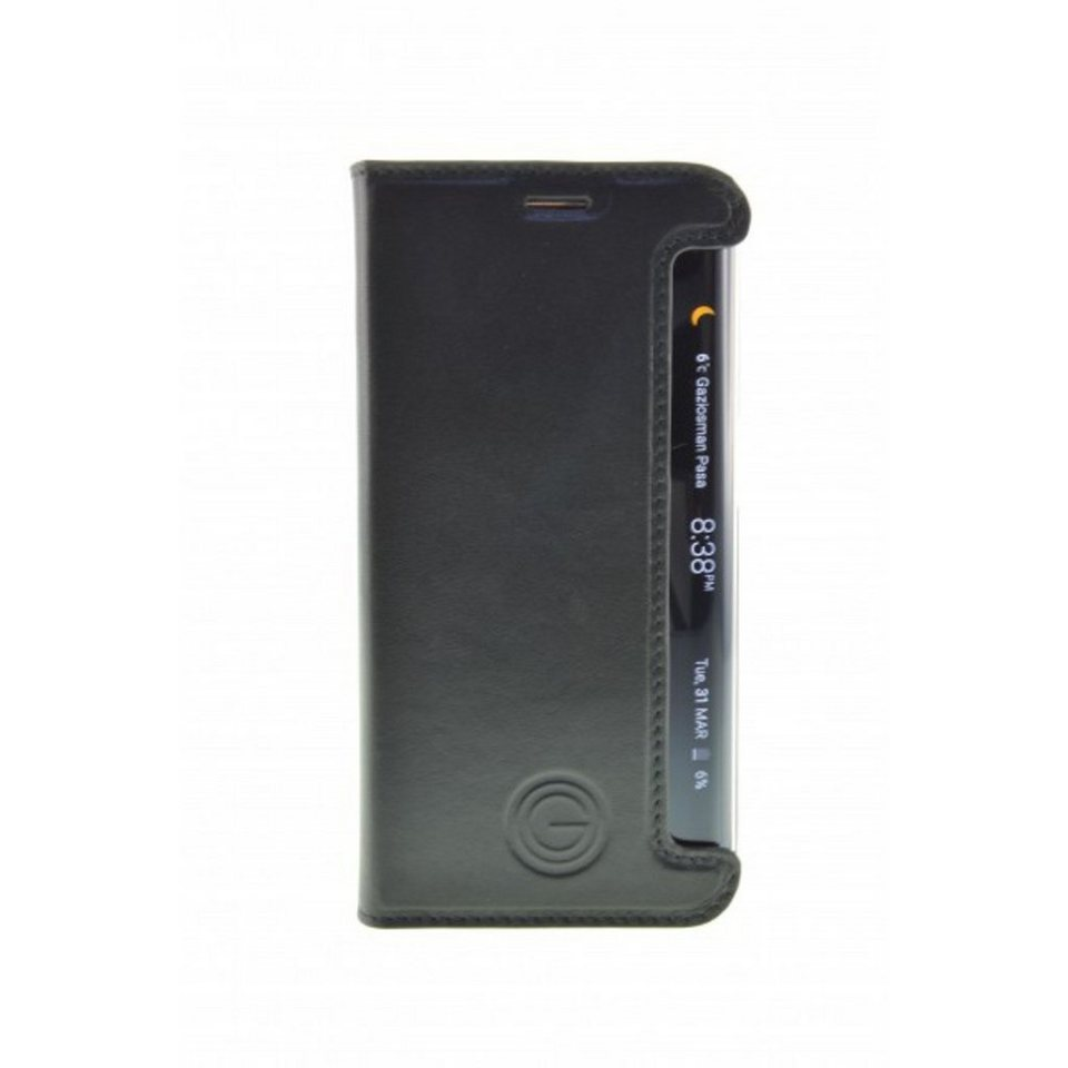 Galeli Handytasche »Book Case TIMO für Samsung Galaxy S6 Edge« in Schwarz