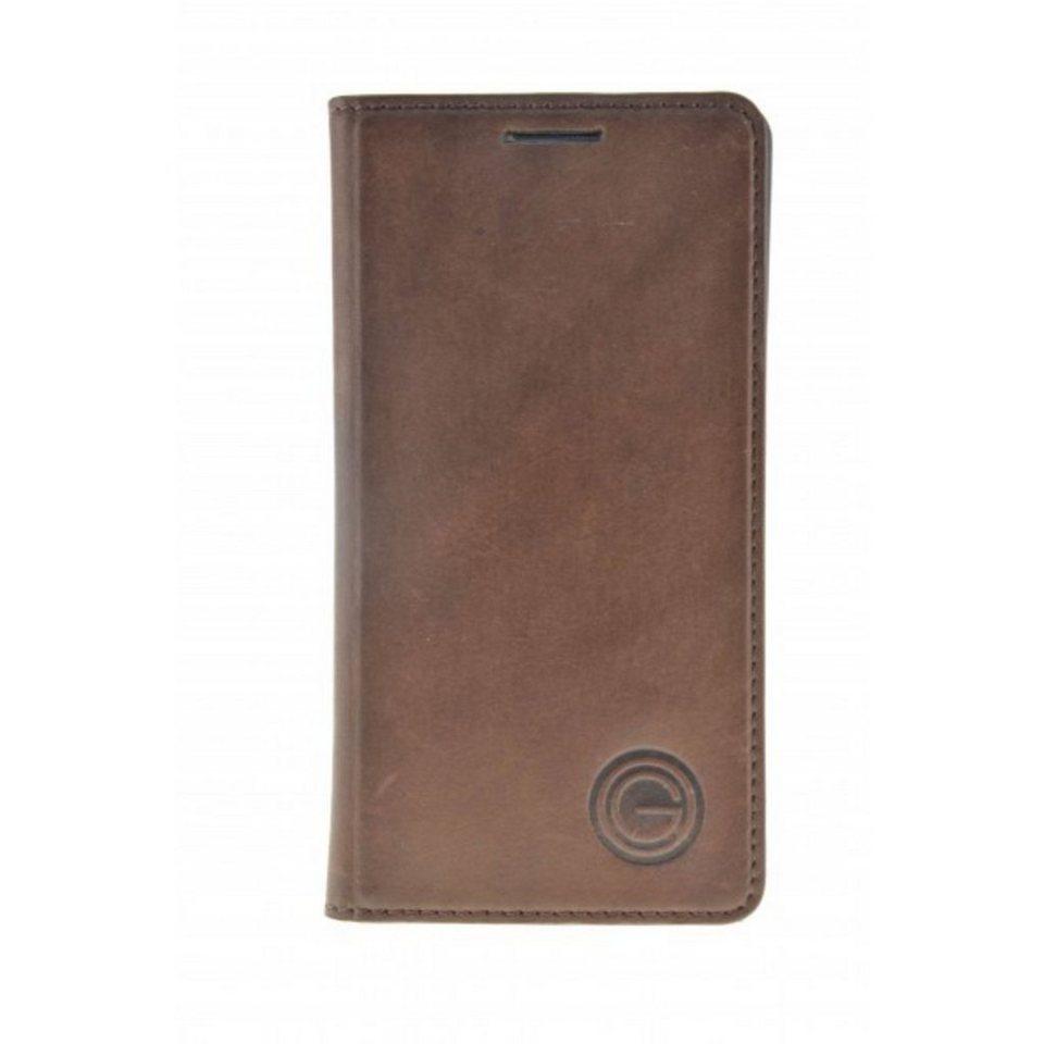 Galeli Handytasche »Book Case TIMO für Samsung Galaxy S6« in Braun
