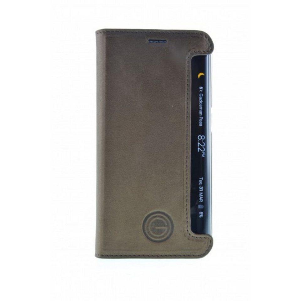 Galeli Handytasche »Book Case TIMO für Samsung Galaxy S6 Edge« in Braun