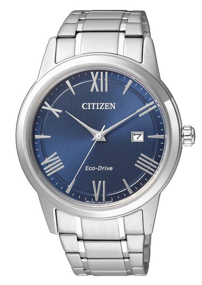 "Citizen, Armbanduhr, ""AW1231-58L"" in silberfarben-blau"