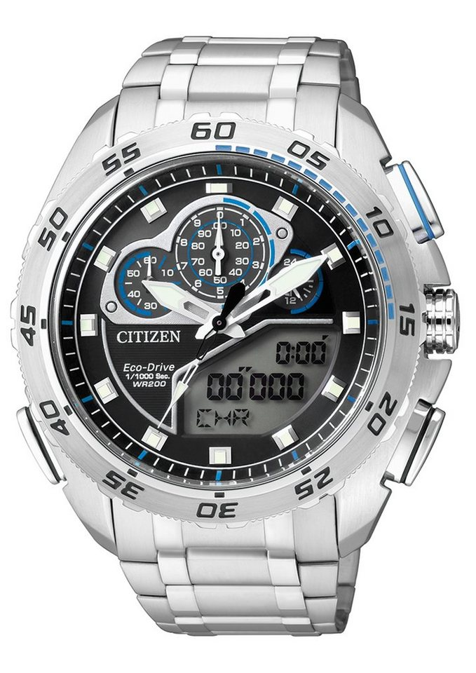 "Citizen, Chronograph, ""JW0120-54E"" in silberfarben"