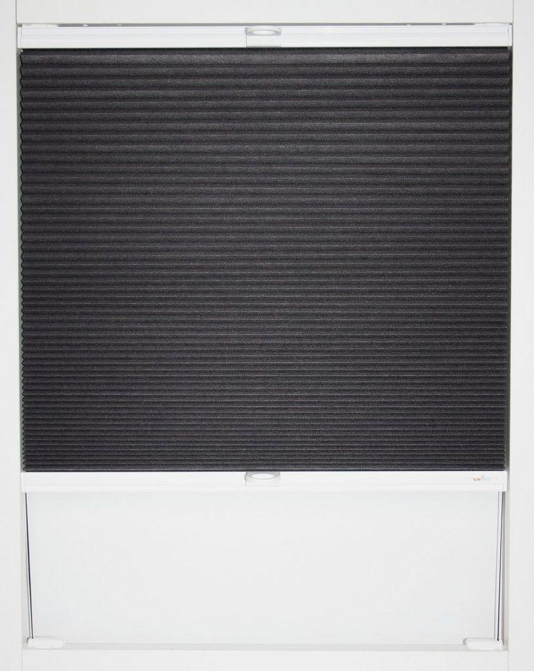 wabenplissee sunlines babett faltenstore verdunkelung energiesparend wunschma online. Black Bedroom Furniture Sets. Home Design Ideas