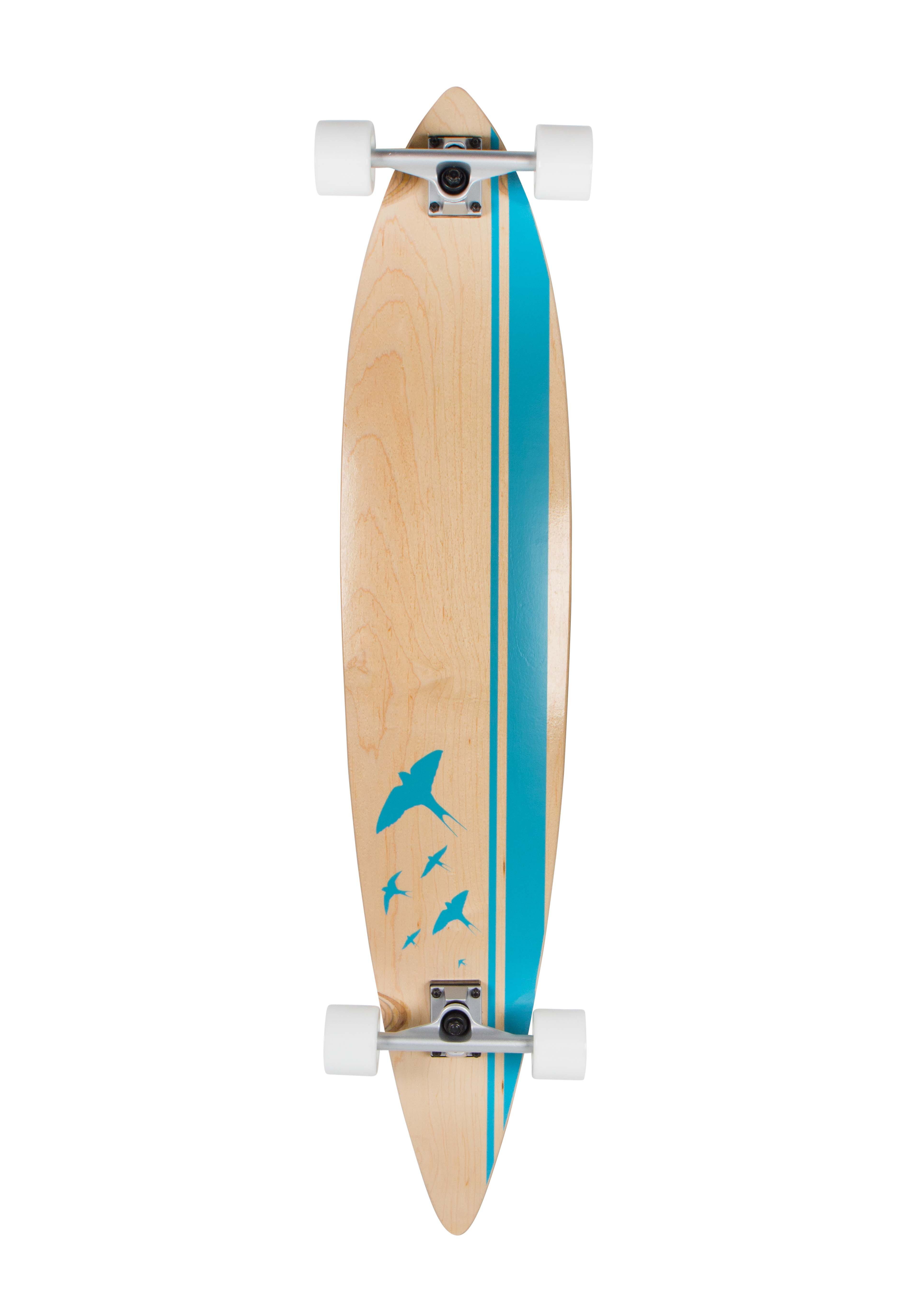 Sportplus Longboard, Longboard Concave round pintail, »Flyblue SP-SB-106«